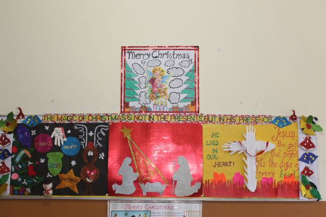 INTER-CLASS BULLETIN BOARD COMPETITION (PRIMARY BLOCK)